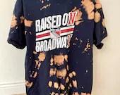 Upcycled Tie Dye XL New York Rangers T-Shirt