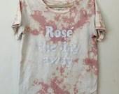 Pink & White Tie-Dye Rosé T-Shirt