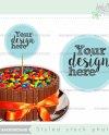 Cake Mockup Birthday Cake Mockup Cake Mock Up Stock Photos Etsy