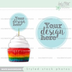 Cupcake Mockup Stock Photos Styled Stock Photography Food Etsy