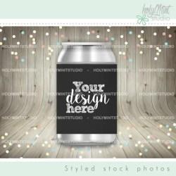 Sleeve Can Mockup Can Cooler Mockup Can Of Soda Mockup Etsy