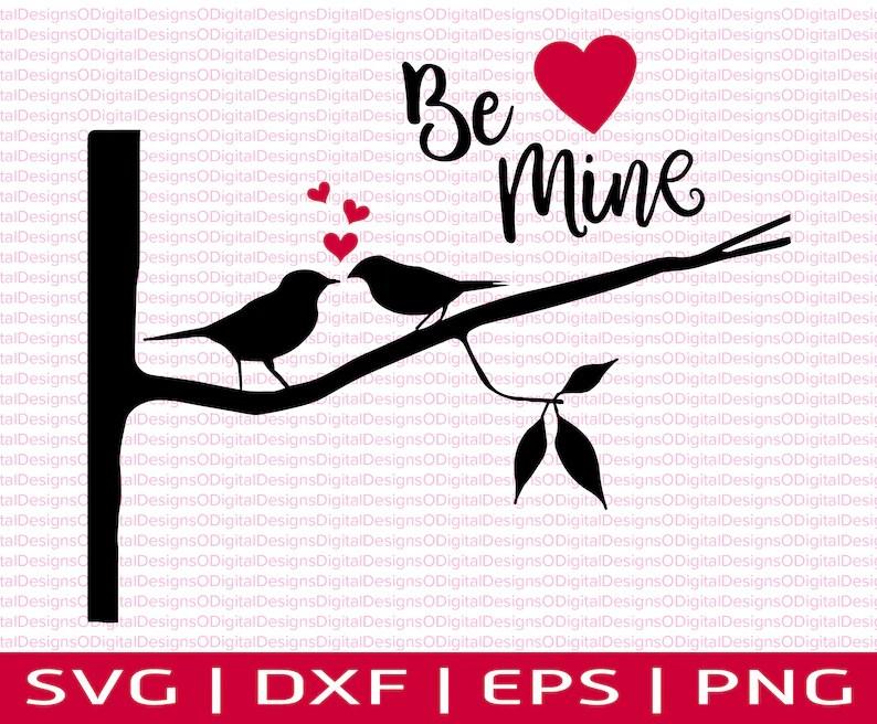 Download Love Birds SVG Valentine SVG Love birds on a branch svg   Etsy
