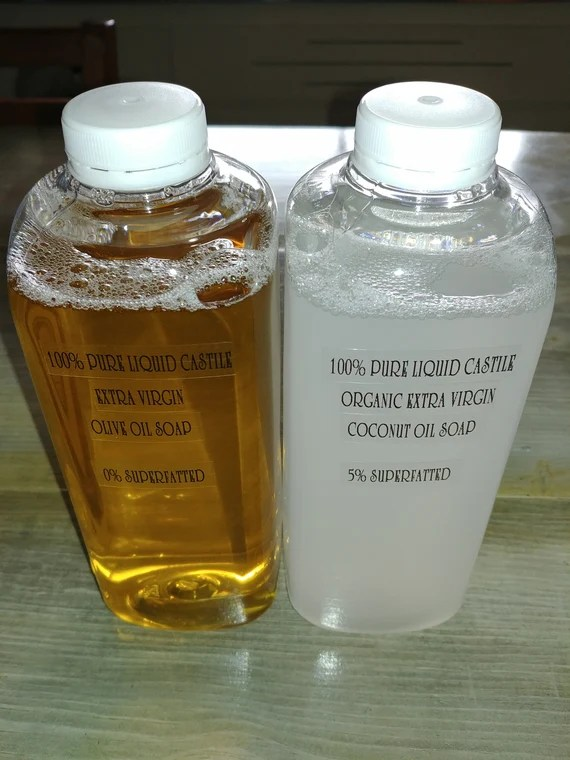 Liquid Castile Soap Etsy
