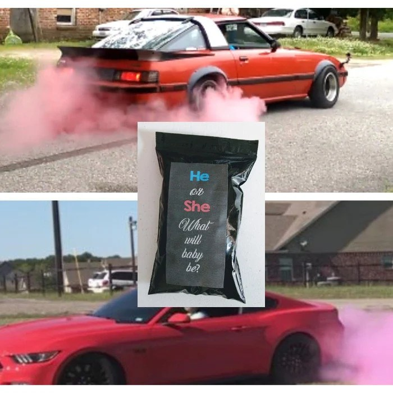 gender reveal burnout tire pack burnout tire tire smoke etsy