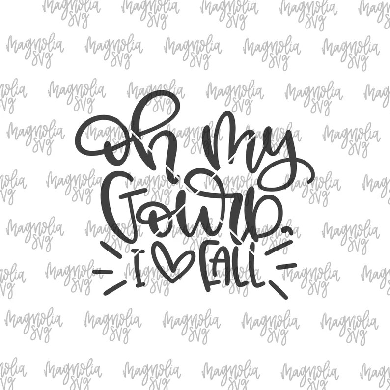 Download Fall SVG Oh My Gourd I Love Fall svg Gourd svg I Love Fall ...