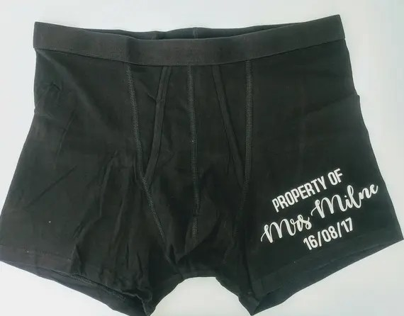 Personalised Boxers
