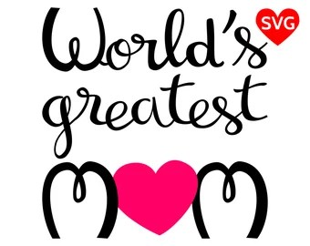 Download I Love You Mom SVG File for Cricut and Silhouette I Love ...
