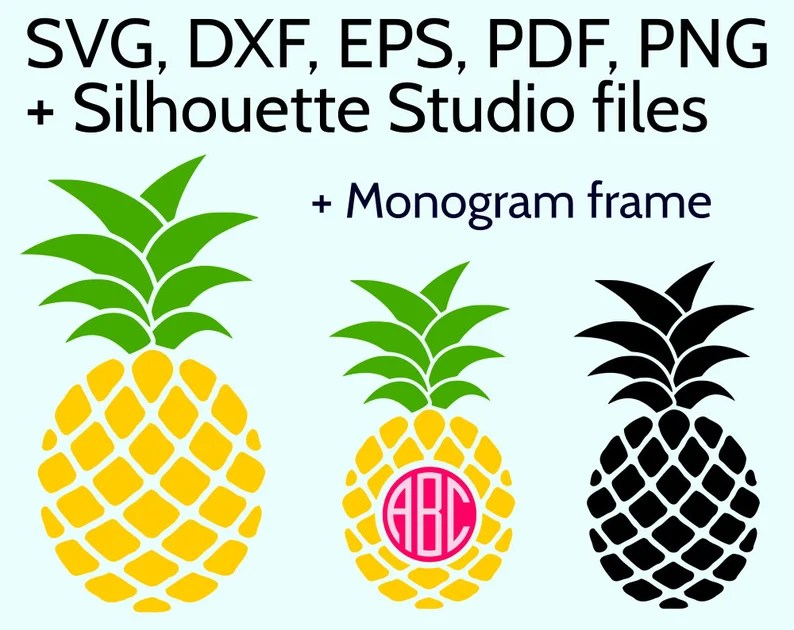 Download Pineapple SVG file for Cricut & Silhouette SVG Pineapple ...