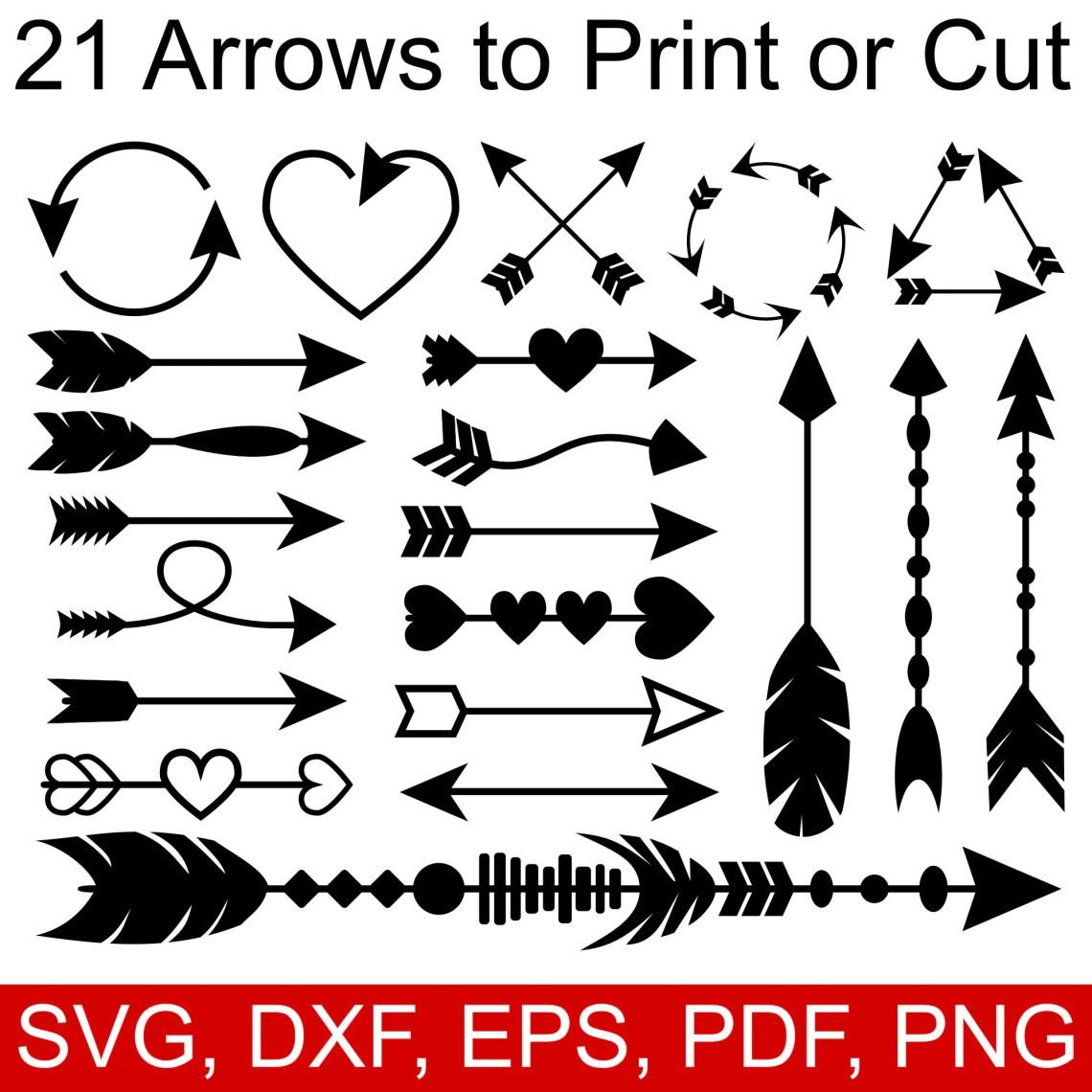 Download 21 Arrow SVG files Arrow Clipart Arrow DXF Arrow PDF Arrow ...