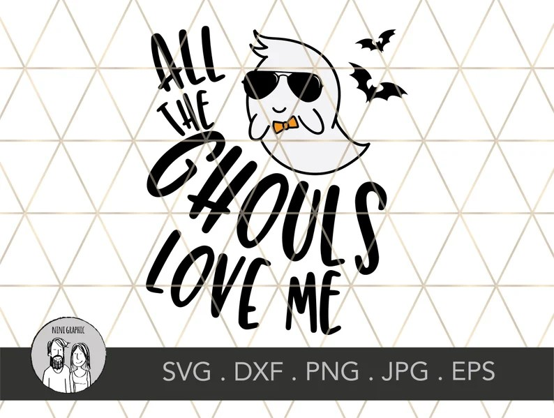 Download Kids Halloween svg All the Ghouls love me SVG PNG DXF File ...