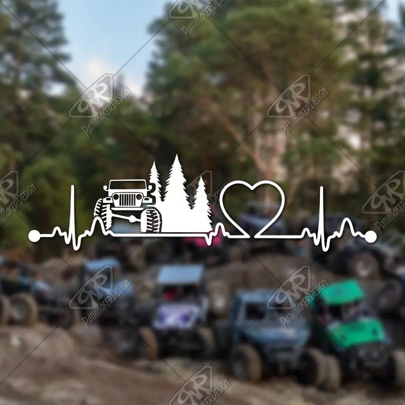 DECAL – [Heartbeat Jeep...
