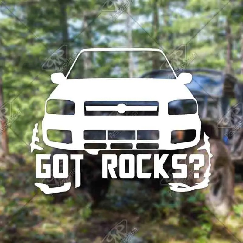 DECAL – [Got Rocks? Nis...