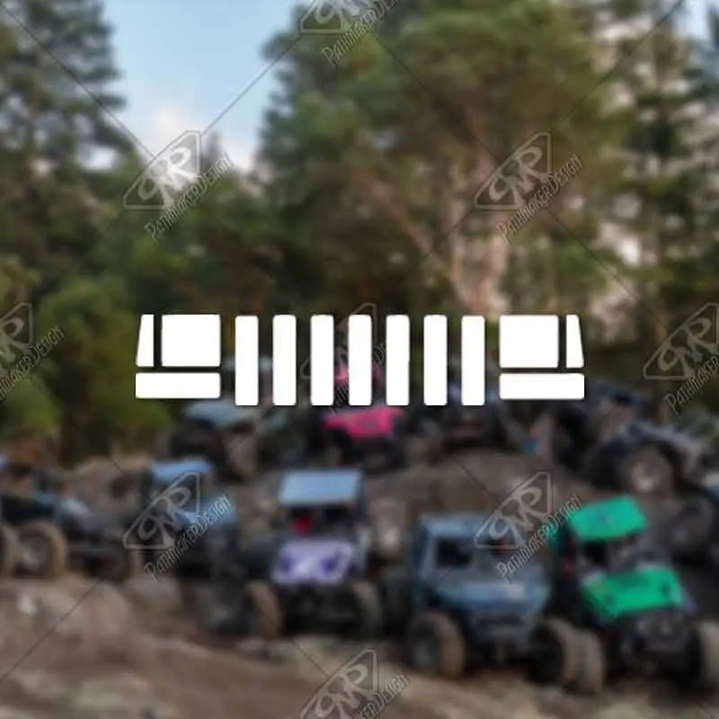 DECAL - [Jeep ZJ Grill v2...