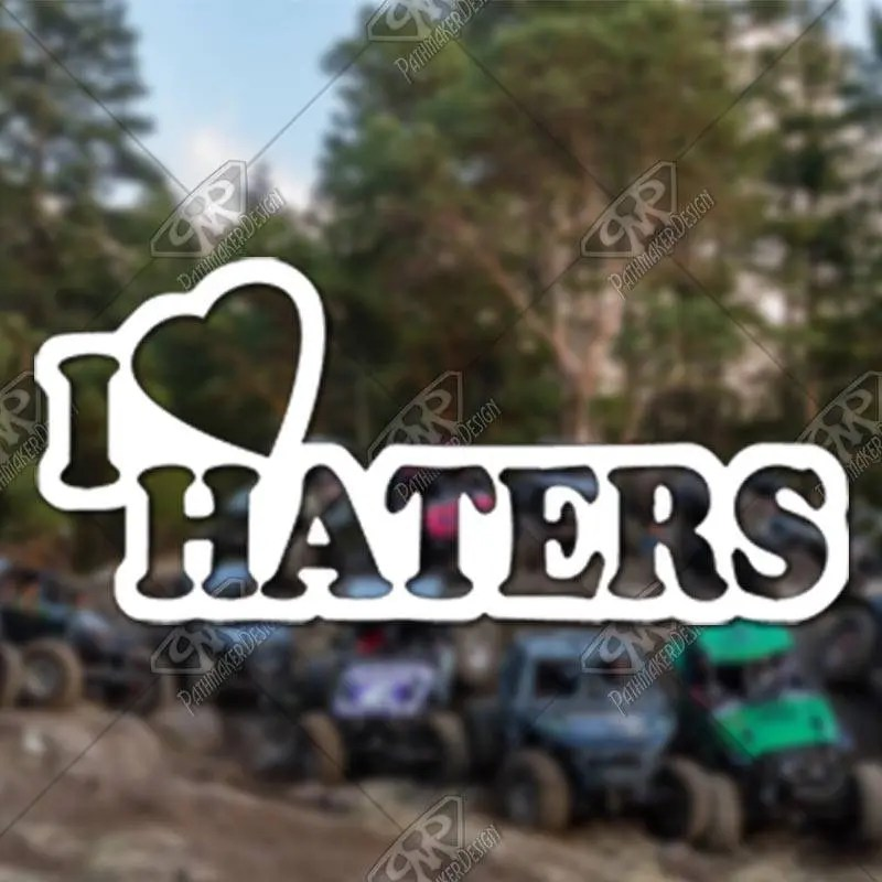 DECAL – [I Heart Haters...