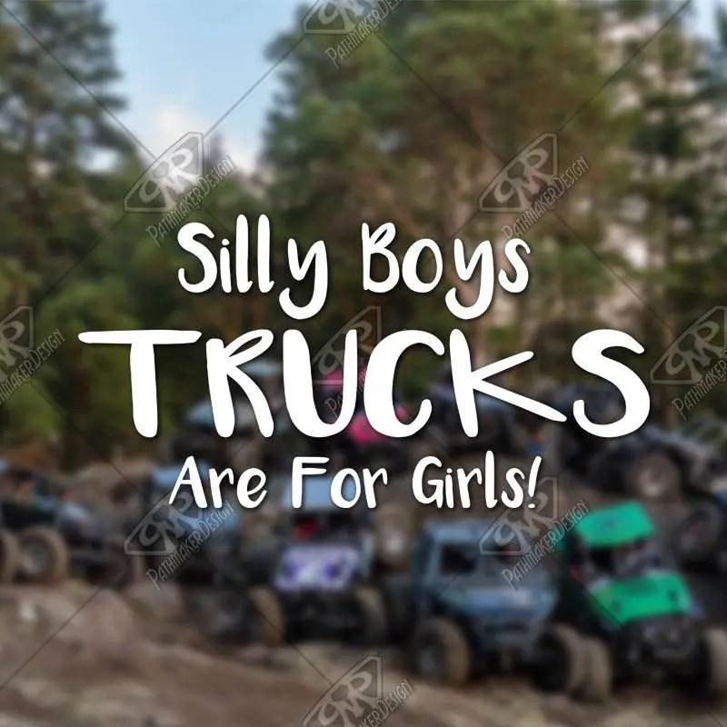DECAL – [Silly Boys Tru...
