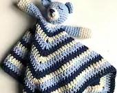 Crochet Pattern Sleeping Baby Bear Snuggly