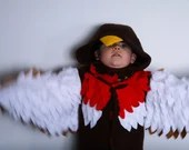 Robin Costume | Kids Dress up, Kids Costume, Bird Costume, St Davids Day, Fancy Dress, Personalised Gift, Montessori