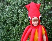 Squid Costume | FREE POSTAGE | Kids Dress Up, Halloween, Giant Squid Costume, Sea Life, Parties, Squid Outfit, Children's Fancy Dress