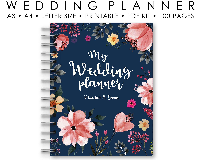 Wedding Planner Printable Wedding Binder Printables Bridal