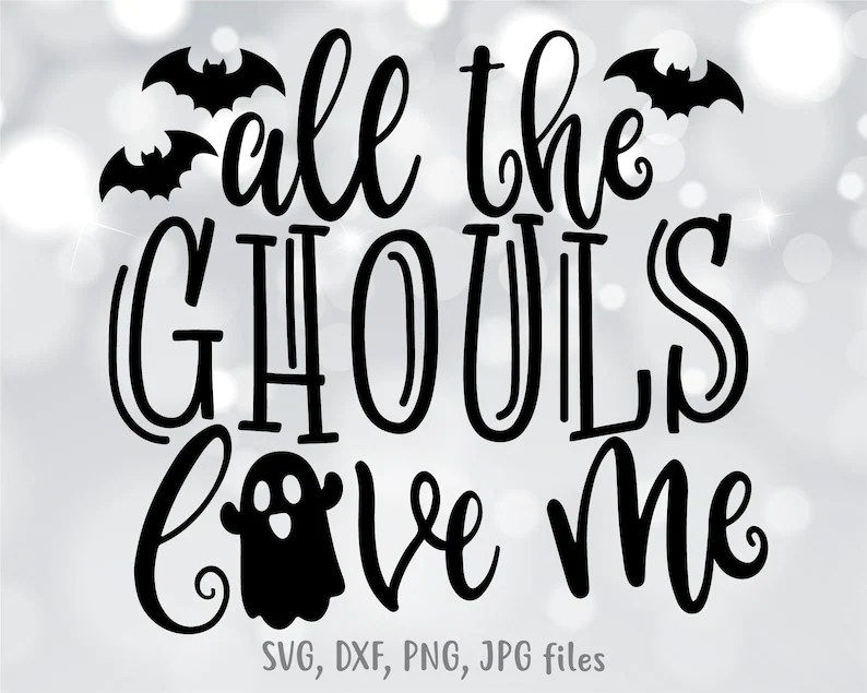 Download All The Ghouls Love Me svg Kids Halloween svg Boy ...