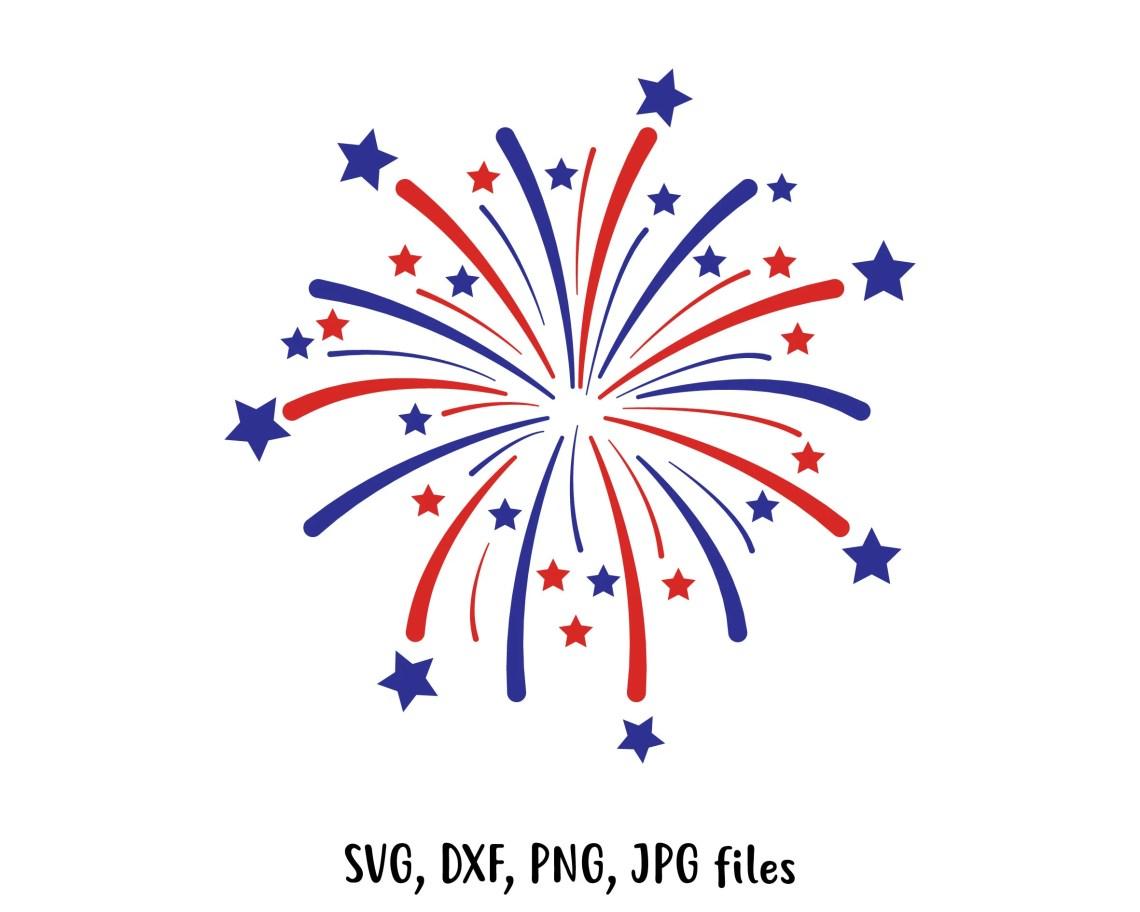 Download Fireworks SVG Independence day svg Fireworks Cut File | Etsy