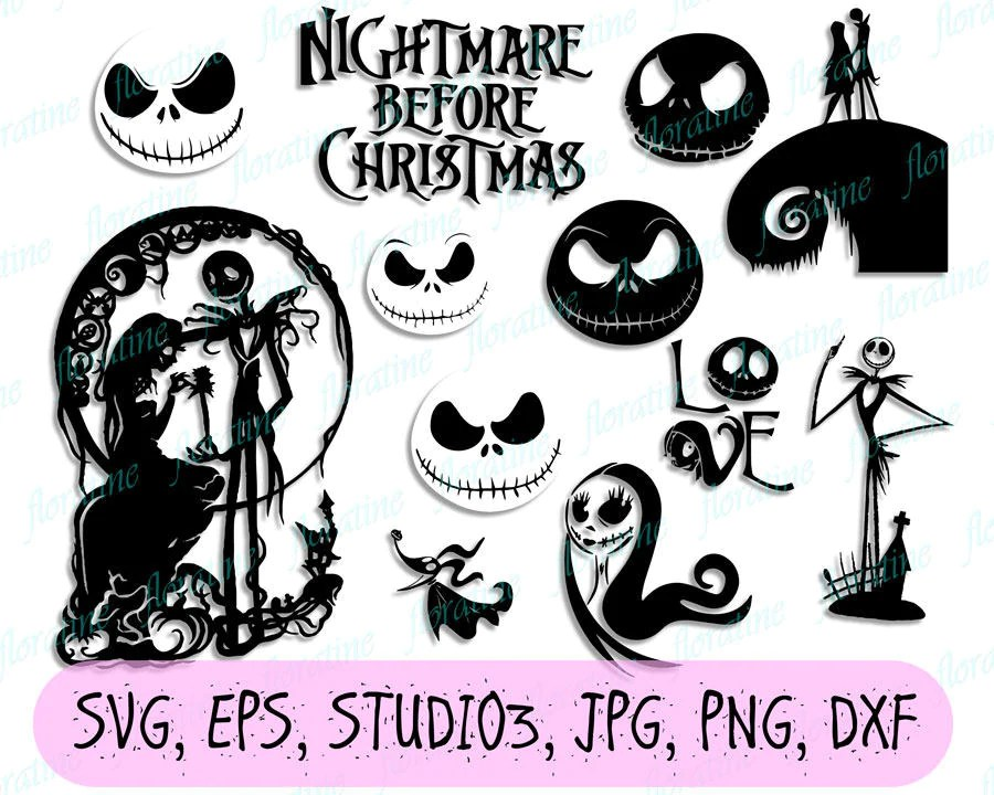 Download Nightmare before Christmas svg Nightmare before Christmas ...