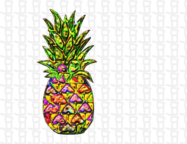 Download Pineapple SVG Rainbow Pineapple SVG SVG File for Cricut ...