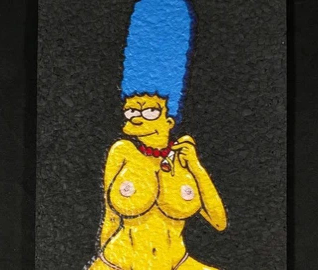 Marge Simpson Etsy
