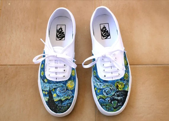 Starry night Vans