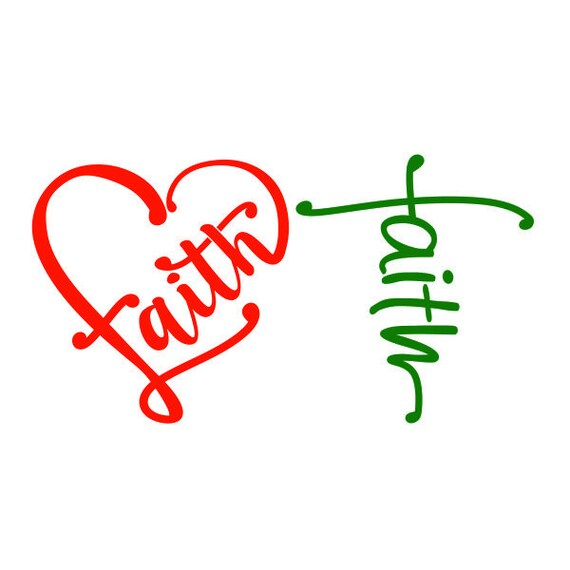 Download Faith Church Jesus love Heart Cuttable Design SVG PNG DXF ...