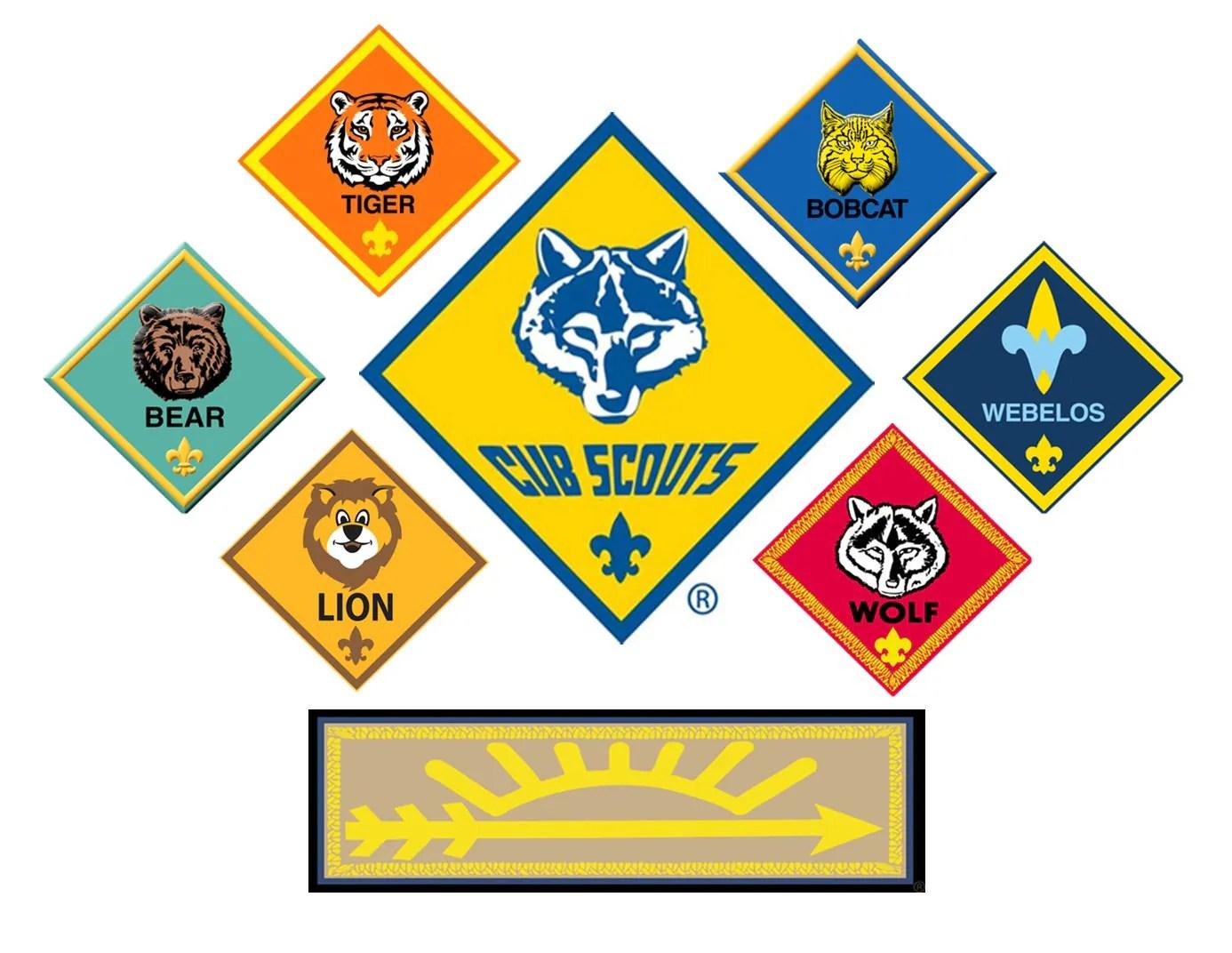 Lion Badge Cub Scouts Boy Scouts Edible Cake Topper
