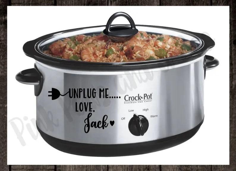 Download Unplug me ... Love Jack Decal Crockpot Instant Pot Slow | Etsy