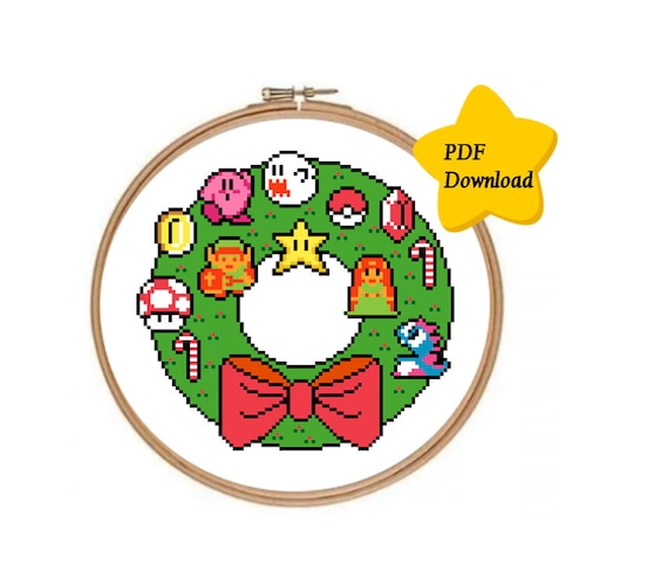 wreath template pdf # 86