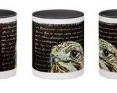 The Literary Hawk Mug
