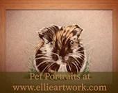 Custom Guinea Pig Portrai...
