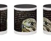 The Literary Hawk Mug