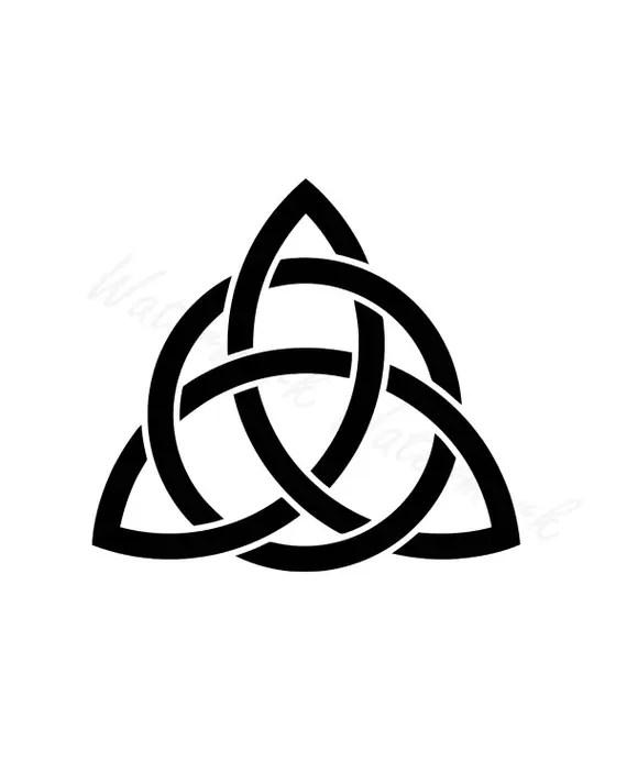 Download Celtic Trinity Knot SVG & Studio 3 Cut File Stencils Cut ...