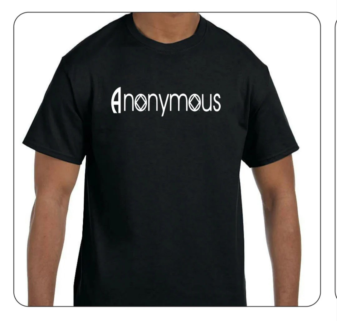 Narcotics Anonymous T Shirts Na Recovery Orientated