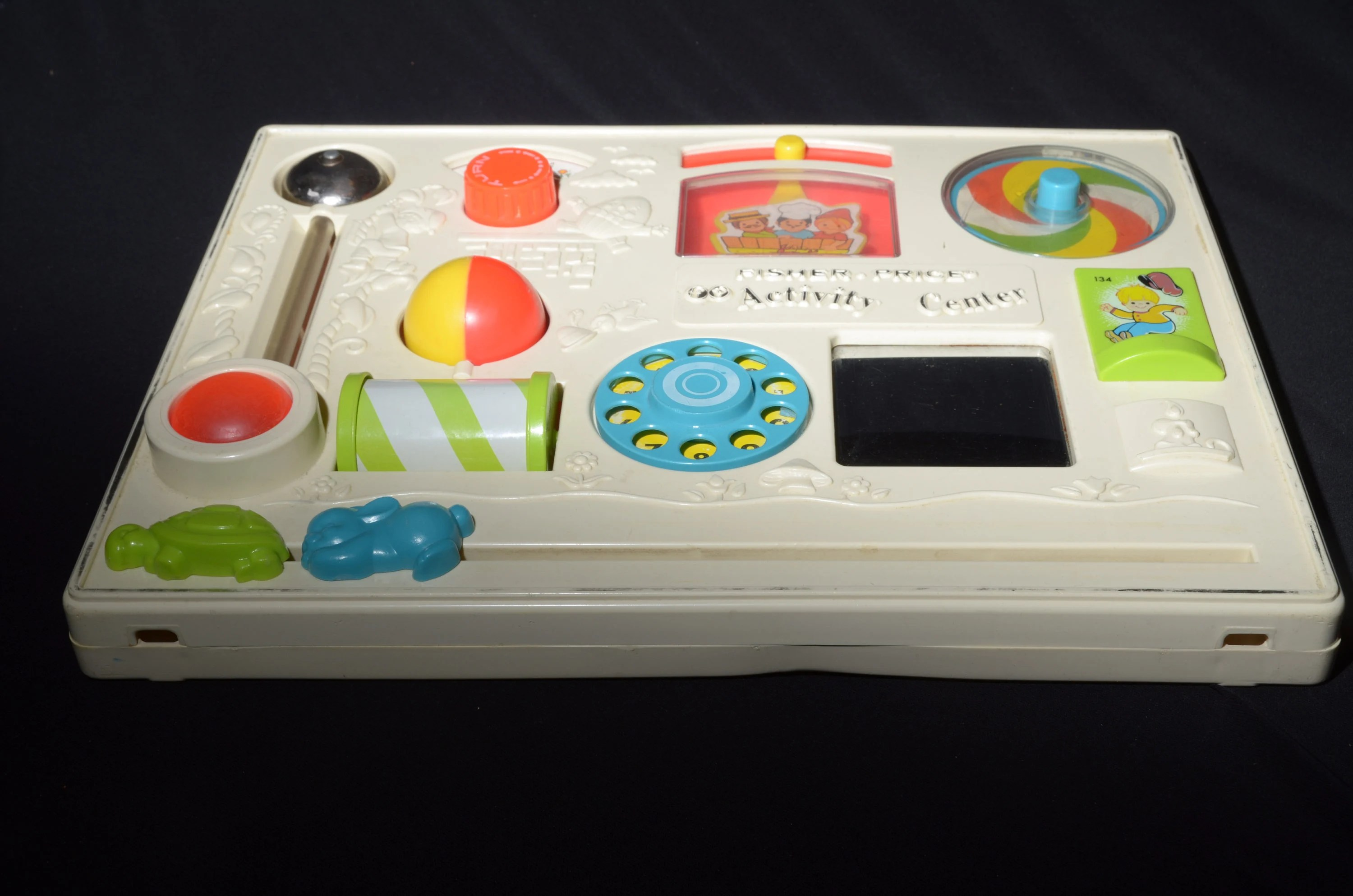 Vintage Fisher Price Activity Center Toy Play Board USA image 7