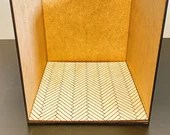 Ada Dollhouse Flooring Kit - 1:12 Scale Roombox Add-on