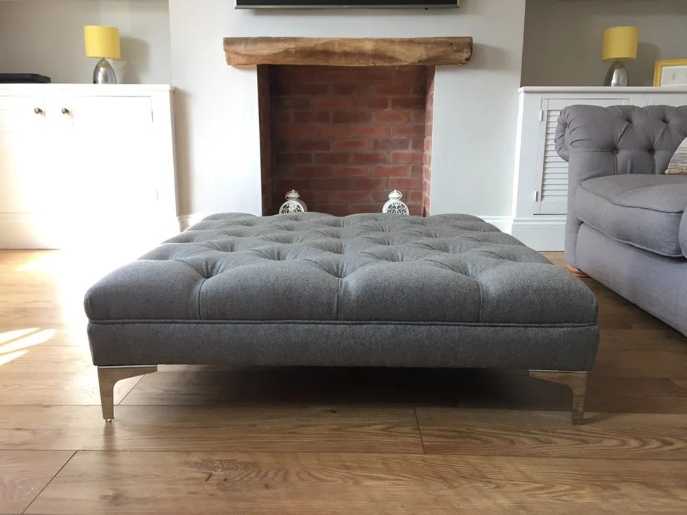 large footstool made to order