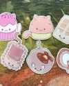 Set 168 Tumblr Stickers Stickers Set Of Stickers Decals Etsy