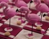 Flamingos dragees boxes