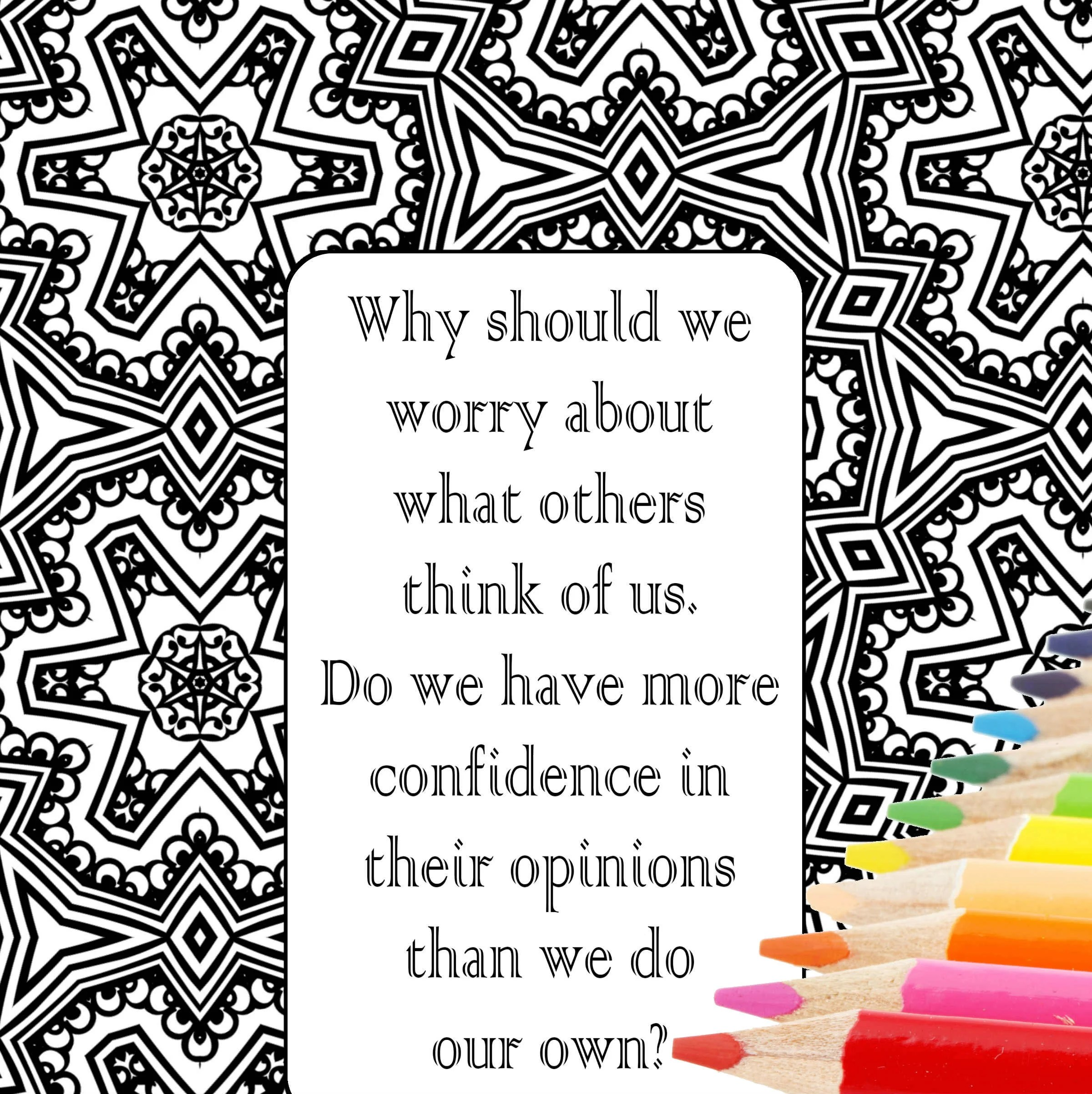 5 Self Love Worth Printable Coloring Quotes Pages
