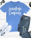 Bella Canvas 3415 True Royal Triblend V Neck Shirt Mockup Etsy