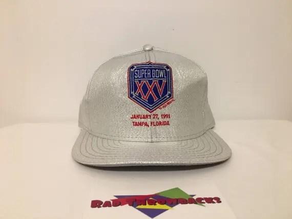 Rare New Dead Stock Vintage 1991 Super Bowl XXV 25 New York | Etsy