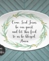 Quotes Bible Verse Custom Personalized Platter Customize Etsy