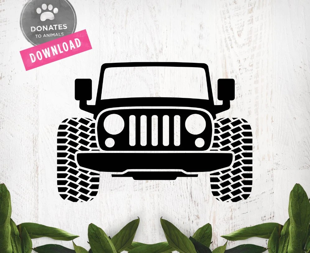 Download Layered Jeep Svg For Silhouette - Free Layered SVG Files