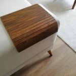 Promo Sofa Arm Tray Sofa Tray Table Coffee Table Wood Tray Sofa Arm Table Gift Home Living Antique Pine Anpn3050ff