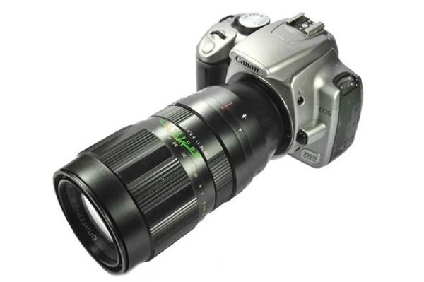 Jupiter-21M 200mm F4 Russian Vintage Lens for Olympus 4/3 ...